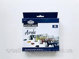 Набір акрилових фарб Royal & Langnickel 6кол.