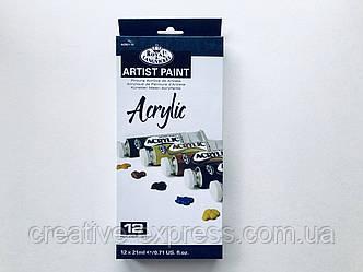 Набір акрилових фарб Royal & Langnickel 12кол.