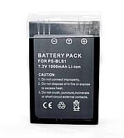 Аккумулятор для фотоаппаратов OLYMPUS - BLS-1 (PS-BLS1) - 1000 ma