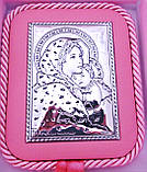 Икона Святая Мария с младенцем на подушечке Гранд Презент 4245, фото 2