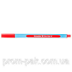 Ручка с красными  масляными чернилами Slider Edge Schneider