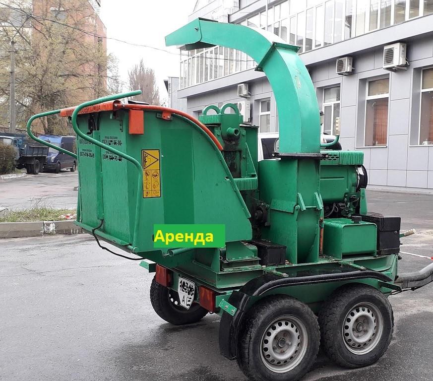 Услуги Дробилки веток,щепореза по Киеву.Аренда щепореза