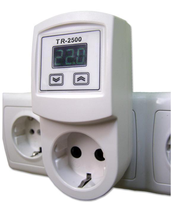 Розетка с терморегулятором