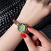 ➀Классические женские часы Pollock Jewel Green кварцевые наручные стальные для женщин девушек, фото 3