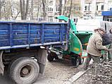 Оренда щепореза по Києву.Дробарка дерева, фото 4