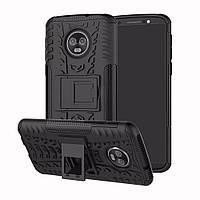 Чехол Armor Case для Motorola Moto G6 Plus XT1926 Черный, фото 1