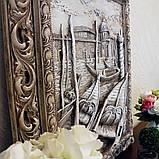 Барельеф Венеция Причал светящийся Гранд Презент КР 907 камень светит, фото 4