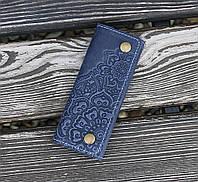 Ключница Цветок синий 6*14см 10-1С