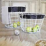 Корзина лоза 25 см Гранд Презент 27052017-1, фото 3