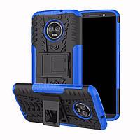 Чехол Armor Case для Motorola Moto G6 Plus XT1926 Синий, фото 1