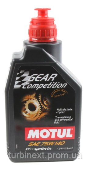 Масло 75W140 MOTUL Gear Competition (1L) (105779) 823501