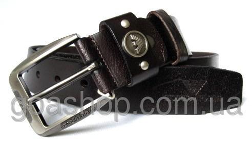 Мужские ремни кожаные армани кожаный ремень мужской купить киев