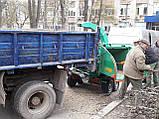 Аренда щепореза по Киеву.Дробилка дерева, фото 4