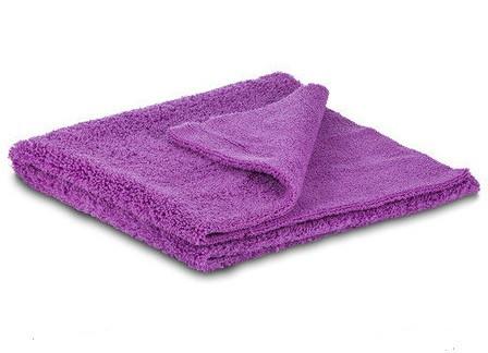 SGCB SGGD010Microfiber Towel Purple Микрофибровое полотенце без оверлока фиолетовое 40х160 см