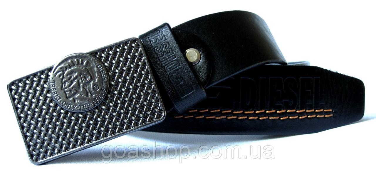 Ремни для джинсов мужские дизель кожаный ремень мужской шириной 5 см купить
