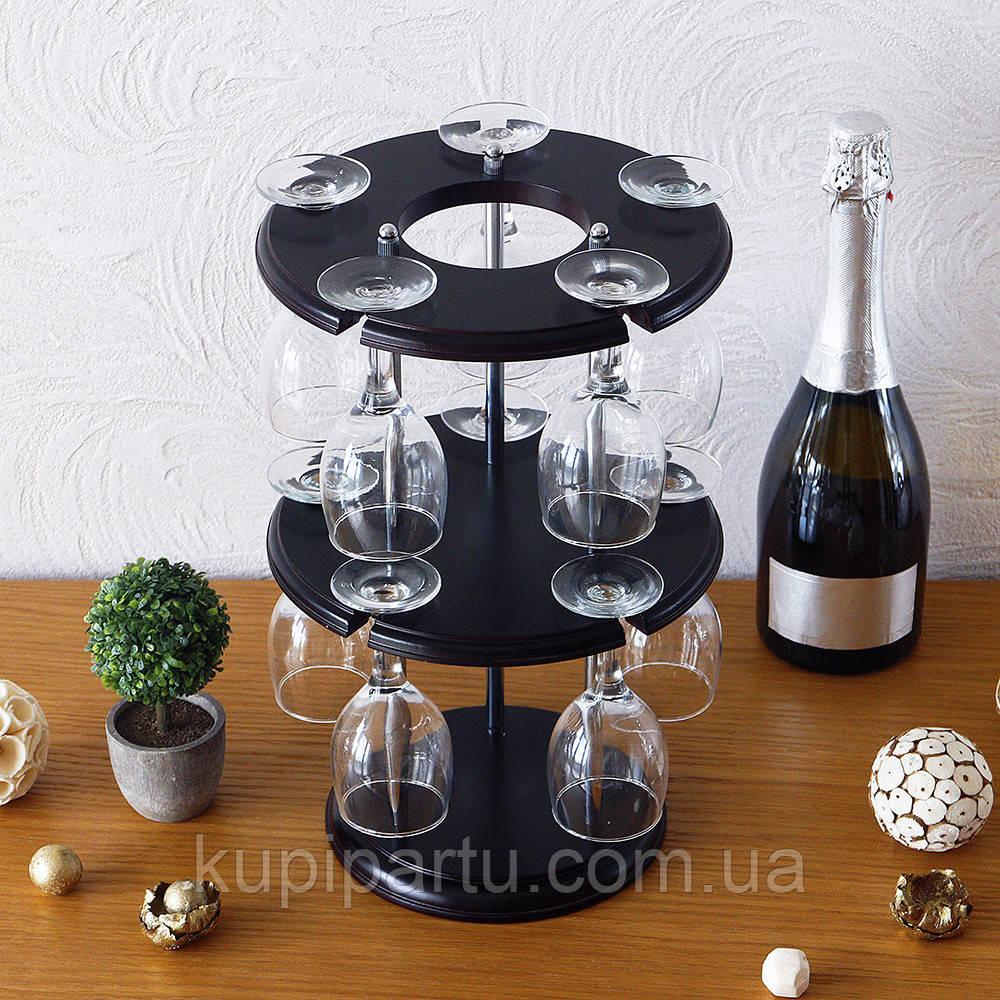 Набор для вина на 10 рюмок-Популяр SS06016