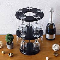 Набор для вина на 10 рюмок-Популяр SS06016, фото 1