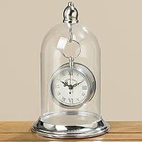 Часы Белина серебряный металл, стекло h26см 7421300