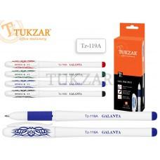 TZ 119A Ручка гелевая 0,5мм, СИНЯЯ TUKZAR