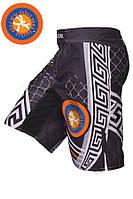 Шорты BERSERK PANKRATION approved UWW KIDS black (размеры в ассортименте)