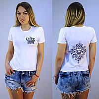 Женская футболка с принтом Королева Queen, фото 1
