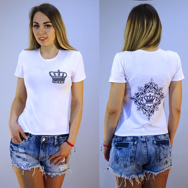 Женская футболка с принтом Корона