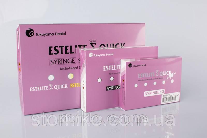 Композитный материал Estelite Sigma Quick ( Эстелайт) цвет OPA2 1шпр