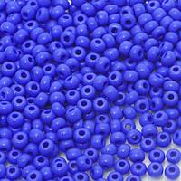 Бісер Preciosa Чехія №33040  синій  натурал