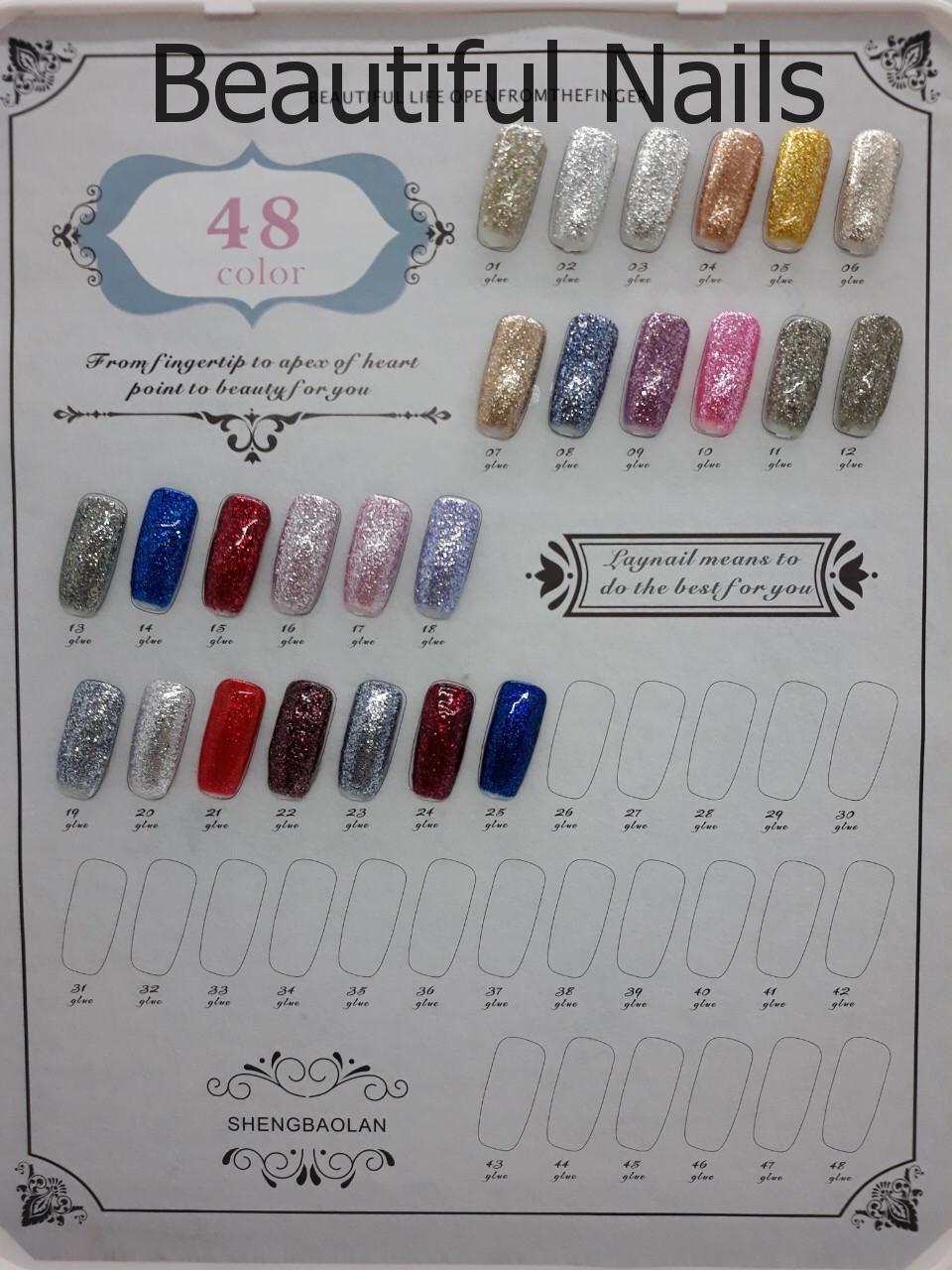 Фольга жидкая для ногтей UK.Nail 7 грамм,цвета в ассортименте