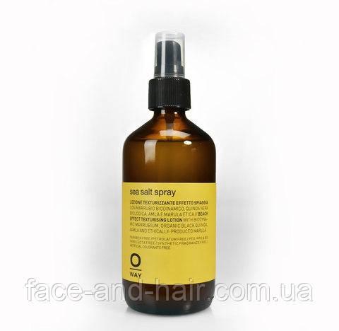 Текстуирующий спрей для создания пляжного эффекта Rolland Oway styling Sea salt spray 240 мл