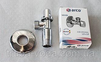 """Кран приборный ARCO 1/2""""x1/2"""" (Испания) хром"""