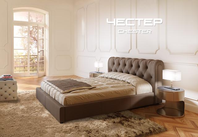 Кровать ЛЮКС с бельевым ящиком