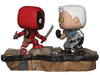 Фигурка Funko Pop Marvel: Comic Moments - Deadpool vs Cable Дэдпул против Кэйбла BL  DP 318
