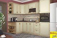 Кухня Виктория NEW с тисненым МДФ фасадом
