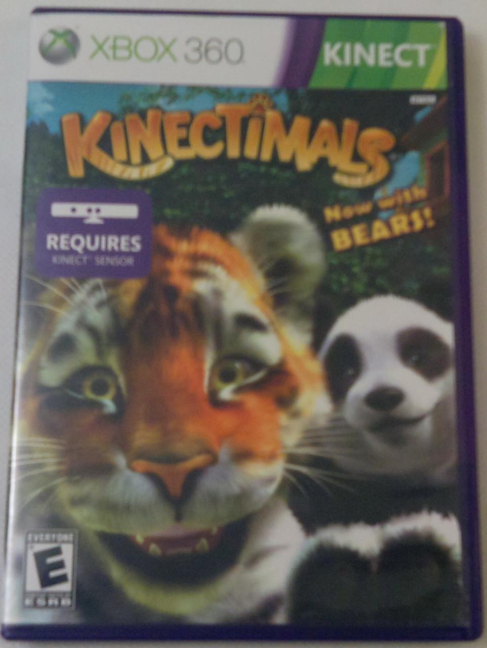 Игры для XBoX 360 KINECTIMALS регион NTSC