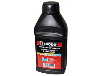 Гальмівна рідина FERODO DOT 4 (0.5 Liter) - FBX050A