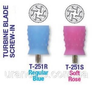 Полировальная резинка Premium PLUS розовая или голубая 1 шт.