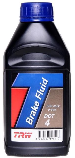 Тормозная жидкость TRW  DOT  4  (0.5 Liter)  -  PFB450