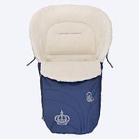 Конверт на овчине Baby Breeze 0356 синий