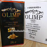 Оливковое масло OLIMP Extra Virgin Olive Oil Gold Extraction 5л Греция