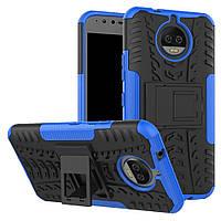 Чехол Armor Case для Motorola Moto G5s Plus XT1805 Синий