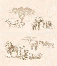 Коллекция Сафари / SAFARI темно-коричневая(слоны), фото 3