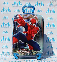 Чемодан детский дорожный качество Эконом ручная кладь Josepf Ottenn Человек паук-44 см 0486-2\19-012-7