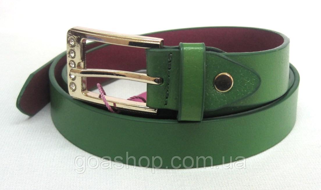 Зеленый кожаный женский ремень купить где купить кожаный ремень в москве