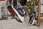 Мужские кроссовки Adidas Yung 1 (сине-серые), фото 2