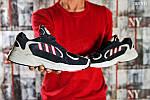 Мужские кроссовки Adidas Yung 1 (сине-серые), фото 3