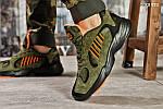 Мужские кроссовки Adidas Yung 1 (зеленые), фото 2