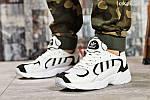 Мужские кроссовки Adidas Yung 1 (белые), фото 4