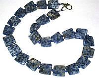Морское ожерелье из лазурита