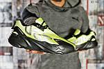 Мужские кроссовки Adidas Yeezy 700 (зеленые), фото 2
